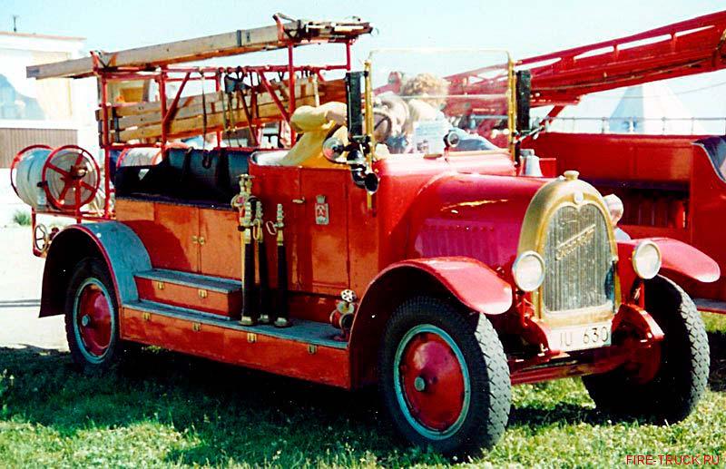 Пожарный автомобиль Tidaholm Fire Engine (1927 год)
