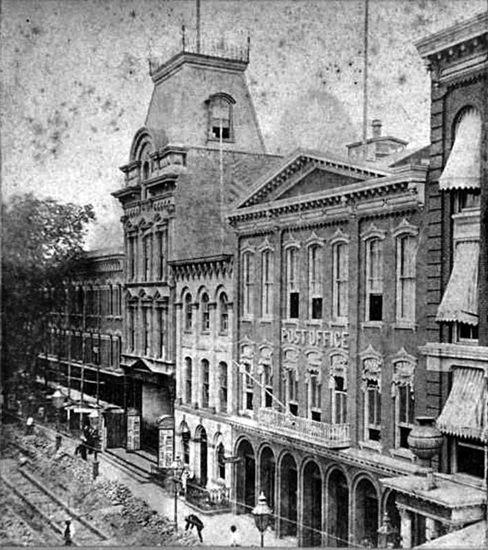 Здание театра в Бруклине до пожара (Нью-Йорк, США)