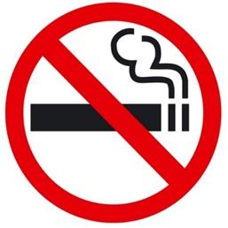Знак о запрете курения табака