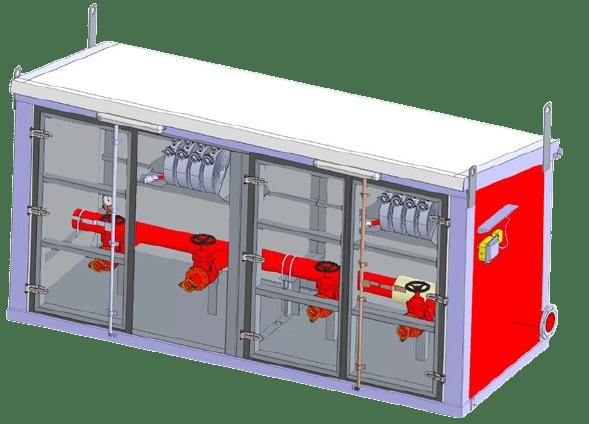 Блочно модульное здание ББПГ (Рис. 2)