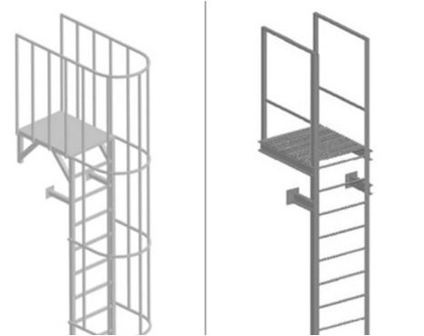 Пожарные лестницы типа П1