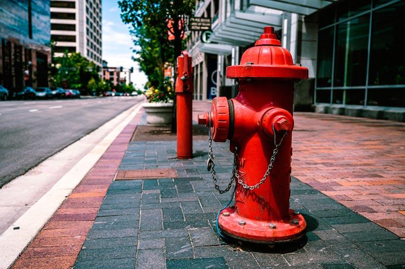 Водоисточник (пожарный гидрант)