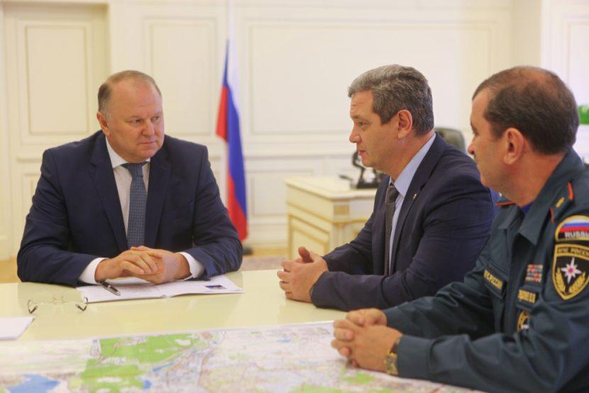 Екатеринбург с рабочей поездкой посетил заместитель министра по чрезвычайным ситуациям