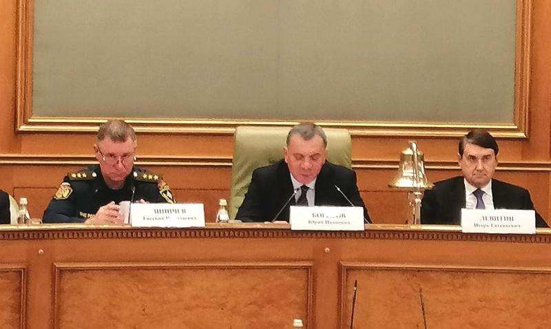 Глава МЧС России Евгений Зиничев принял участие в заседании Морской коллегии при Правительстве Российской Федерации