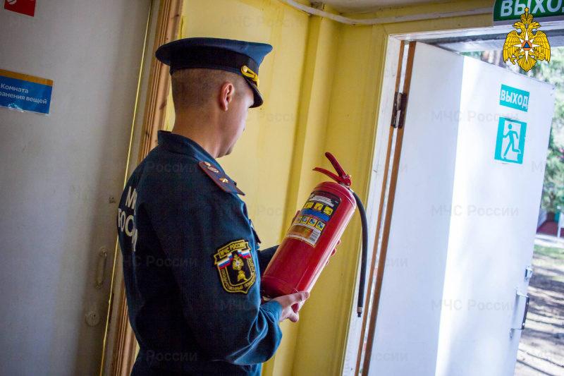 Безопасность детских оздоровительных лагерей на контроле МЧС России