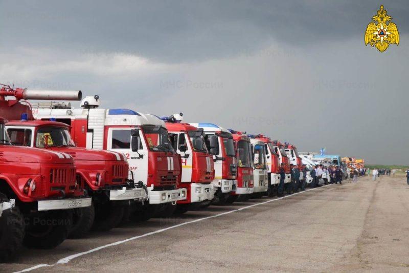 МЧС России по Краснодарскому краю провело масштабную тренировку