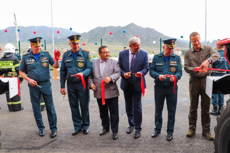 В Республике Алтай состоялось торжественное открытие новой федеральной пожарно-спасательной части