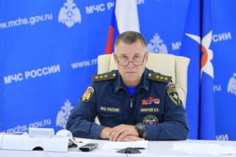 Глава МЧС России дал старт двухдневному командно-штабному учению по вопросам ликвидации последствий разлива нефтепродуктов