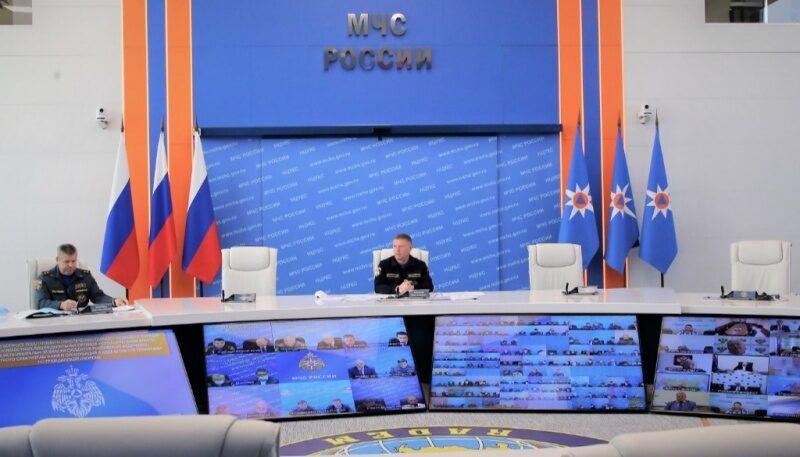 Силы и средства РСЧС начали активную подготовку к всероссийской штабной тренировке по гражданской обороне