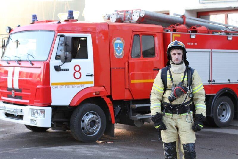 Боец спецподразделений ФПС ГПС из Санкт-Петербурга признан лучшим в системе МЧС России в 2020 году