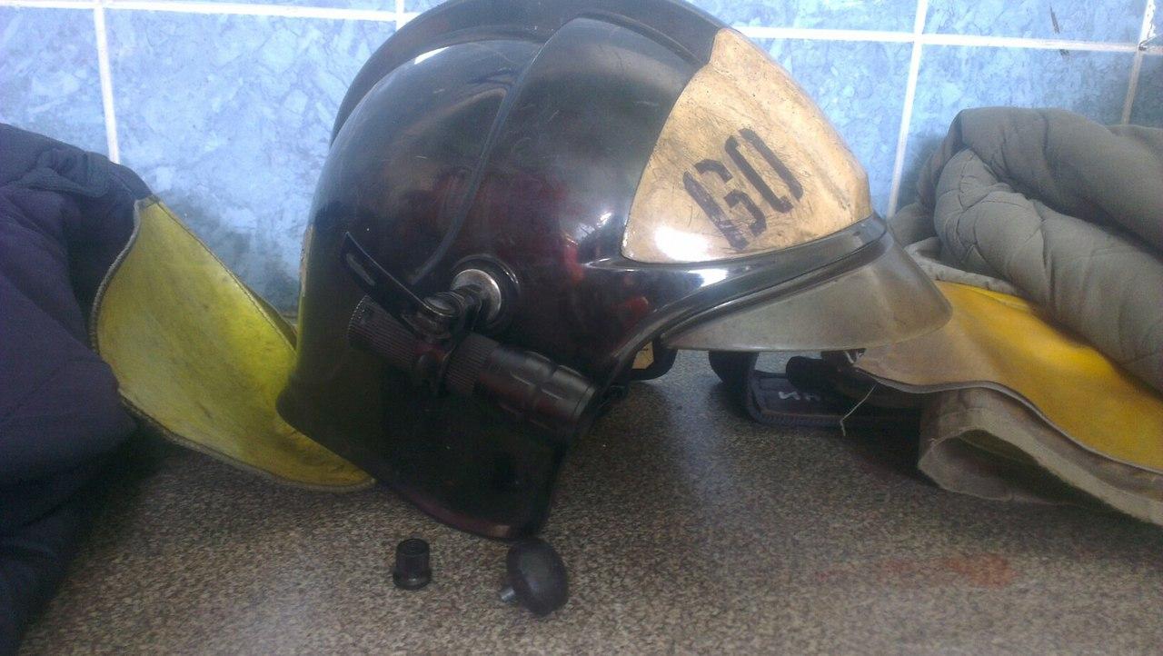 Фонарик на каску пожарного своими руками 72