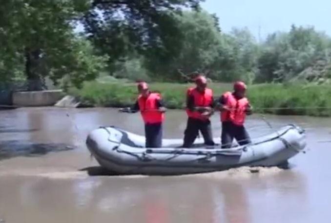 ВОмске отработают ликвидацию паводка cотрудники экстренных служб из Беларуссии иКазахстана